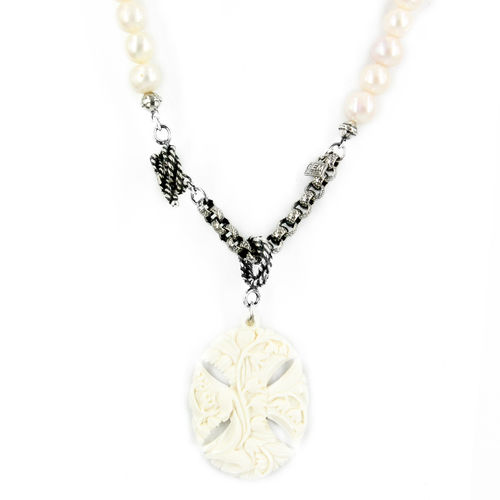 Necklace NK 18A14 B